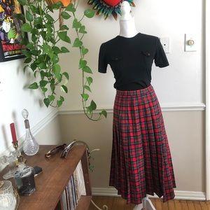 Vintage Pendleton Poodle Skirt